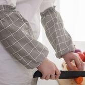 袖套亞麻帆布手臂套家用防水耐磨耐用易清洗 假袖子防曬   9號潮人館