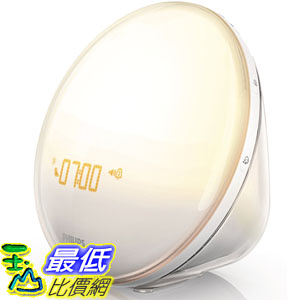 [美國直購] 110- 240V Philips HF3520 Wake-Up Light With Colored Sunrise Simulation 飛利浦 日光音樂鬧鐘