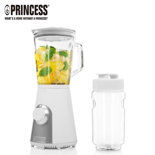 【南紡購物中心】《PRINCESS荷蘭公主》Blend2Go玻璃壺果汁機 217400(霧面白)