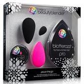 Beautyblender 專業晶鑽黑禮盒組(1組入)【小三美日】美妝蛋/補妝海綿/清潔竹炭皂