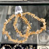 『晶鑽水晶』天然黃水晶手鍊 不規則型 平均約5mm 特小 招財 偏財運 另有一款可選 超值特價中