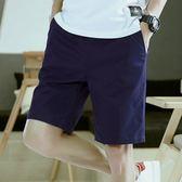 【雙11】夏季修身男士正韓休閒短褲男 五分褲夏天馬褲中褲男褲子西裝5分褲折300