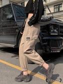 工裝褲 法式女寬鬆帥氣束腳哈倫運動褲春高腰嘻哈褲子潮 - 歐美韓熱銷