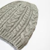 帽子女冬針織毛線帽羊毛帽冷帽女帽子男麻花帽針織帽護耳帽套頭帽『摩登大道』