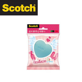 3M CAT158 Scotch® 隱形膠帶造型膠台系列(浪漫心型)系列 / 個