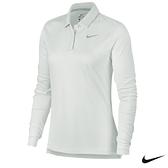 Nike Golf Dry Long-Sleeve 女子高爾夫長袖POLO衫 白 929536-100