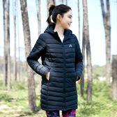 防風 防潑水 透氣 保暖 超輕羽絨棉服 長版仿羽絨棉外套