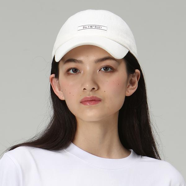 【ISW】多色休閒定型棒球帽-米白 (五色可選) 設計師品牌