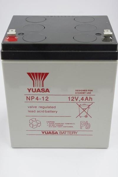 全館免運費【電池天地】湯淺鉛酸蓄電池NP4-12 12V,4Ah