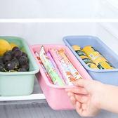 ✭慢思行✭ 【N373】多功能冰箱收納盒 瀝水 餐具 廚房 筷子盒 家用 刀叉 勺子 置物
