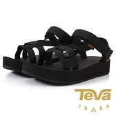 【TEVA】Midform 女 織帶中厚底涼鞋『BLK 黑色』1106853 功能鞋.多功能鞋.休閒鞋.健行鞋.涼鞋.露營