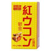 栢歐康 鬱金紅薑黃(100錠/瓶)