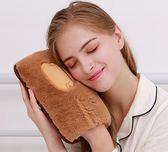 熱水袋 防爆熱水袋煖寶寶女充電電暖寶萌萌毛絨可愛注水暖水袋暖手寶熱寶  DF  二度3C