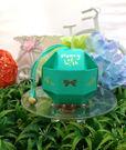 (免費摺喜糖盒)八面玲瓏球喜糖盒-藍綠~婚禮小物/100份