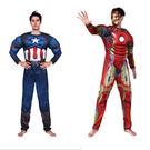 萬聖節成人變裝表演服裝/美國隊長 鋼鐵人...
