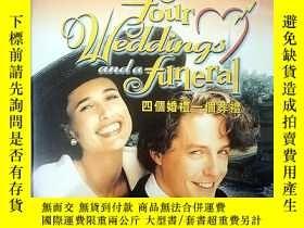 二手書博民逛書店四個婚禮和一個葬禮罕見DVD 國語經典配音Y37363