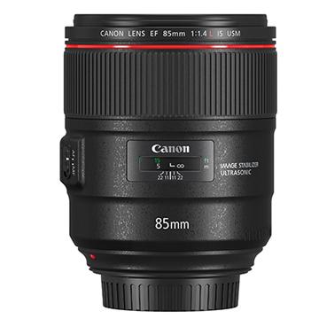 Canon EF 85mm F1.4 L IS USM !極致人像‧穩定細膩 【台灣佳能公司貨】F1.4L