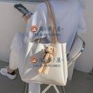 大包包潮時尚女包洋氣單肩包大容量百搭通勤托特包【淘夢屋】