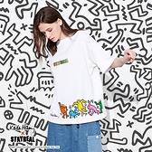 STAYREAL x Keith Haring 生活之舞寬版T