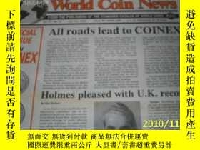 二手書博民逛書店World罕見Coin News(Vol.21, 1994年第8