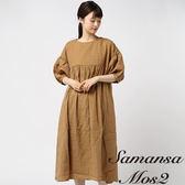 ❖ Summer ❖ 胸前蕾絲泡泡袖連身洋裝 (提醒➯SM2僅單一尺寸) - Sm2