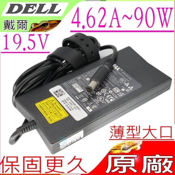 Dell 19.5V,4.62A,90W 變壓器(原廠)-戴爾 M1713,M1716,E7400 ,M1210,M1530,E1405,E1505,E1705,DA90PE1-00