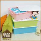 BO雜貨【YV9037】(32Lx1入) Ikloo~床底漾彩掀蓋收納箱 床底收納盒 收納箱 置物箱 密封箱