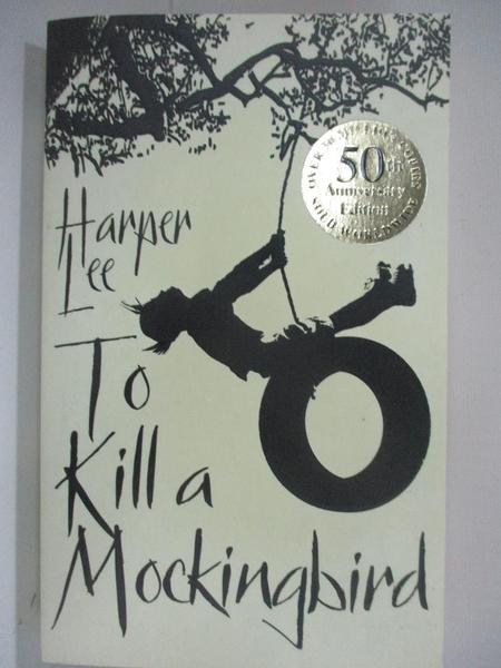 【書寶二手書T1/原文小說_BBY】To Kill A Mockingbird_Lee, Harper