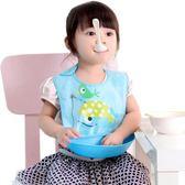 店長嚴選寶寶食飯兜防水兒童圍嘴嬰兒吃飯圍兜小孩口水幼兒喂飯兜兜硅膠仿