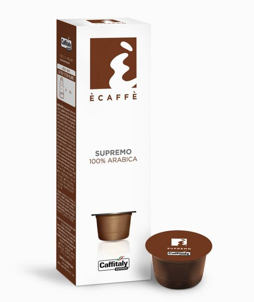 Supremo 百年義式傳教士咖啡Caffitaly8公克 伯朗咖啡膠囊燦坤Tiziano膠囊咖啡