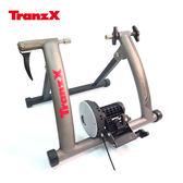 Tranz X JD 128 磁阻式訓練台噴砂灰城市綠洲腳踏車健身車訓練台立車架自行車訓練器