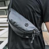 腰包男士多功能斜挎單肩包小背包戶外休閒運動胸包手機包時尚潮流 街頭布衣