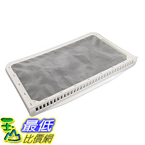 [106美國直購] Durable Maytag Dryer Lint Filter Screen, Fits Admiral, JennAir, Kenmore, Magic Chef Whirlpool 33001808