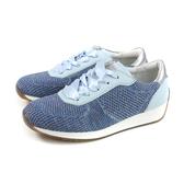 HUMAN PEACE 休閒鞋 綁帶 女鞋 藍色 針織 S-4193205 no012