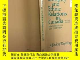 二手書博民逛書店Ethnicity罕見and Ethnic Relations