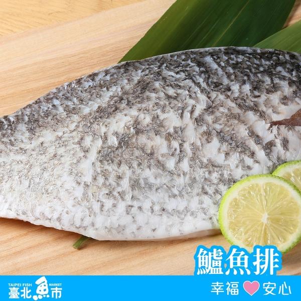 台北魚市 金目鱸魚排