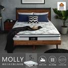 莫莉九段式獨立筒床墊/雙人5尺/H&D東稻家居