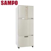 SAMPO聲寶【SR-A46DV(Y2)】455L省電脫臭三門冰箱