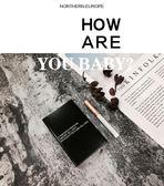 原創設計ins風煙盒 香菸盒20支裝超薄便攜殼子創意個性潮韓酷男女全館免運!