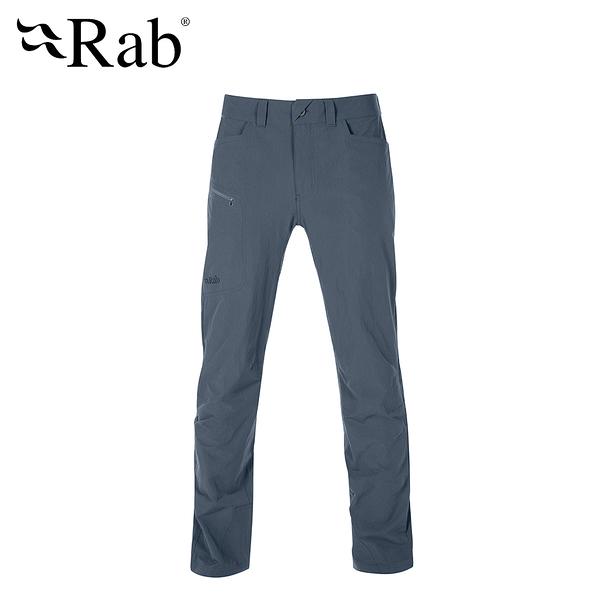 英國 RAB Traverse Pants  輕量彈性快乾長褲 男款 鋼鐵藍 #QFU03