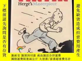 二手書博民逛書店Tintin:罕見Herge s Masterpiece丁丁歷險記 埃爾熱的傑作畫集Y331463 Rizzo