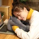 暖手捂抱枕女生睡覺桌上辦公室午睡枕頭趴睡枕學生午靠背墊【輕派工作室】