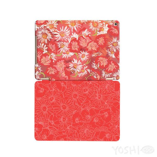 逆轉GO系列 - 新春POP【花中夢露(紅)】:《 iPad Mini 》水晶殼+Smart Cover(磁桿)