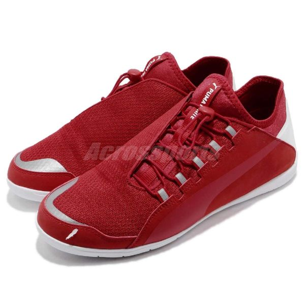 Puma 休閒鞋 SF F Cat Ignite 紅 白 法拉利 Ferrari 舒適鞋底 運動鞋 男鞋【PUMP306】 30613201
