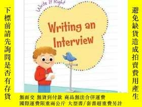 二手書博民逛書店Writing罕見an InterviewY346464 Cec