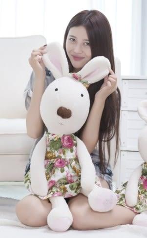 娃娃屋樂園~Le Sucre法國兔砂糖兔(田園小花款)90cm990元另有30cm45cm60cm