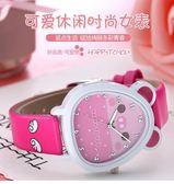 好康降價兩天-公主粉小巧迷你簡約清新兒童手錶可愛女孩防水學生休閑百搭電子錶