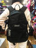Coleman 美國品牌 電腦/健行 雙肩背包 經典黑 (CM-32856M000) (25L) 贈送束口袋