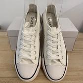 厚底懶人鞋潮帆布鞋休閒鞋(36-42號/222-7994)