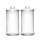 玻璃密封罐兩入組900ml-圓形